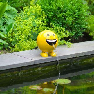 Ubbink spuitfiguur be happy geel