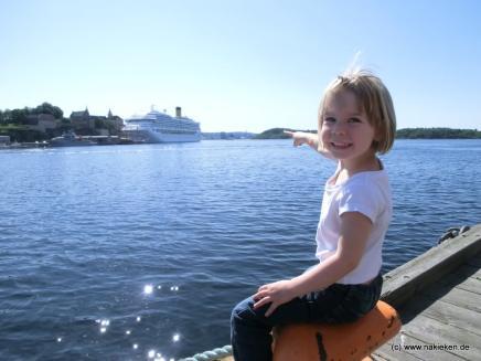 Costa Magica im Hafen von Oslo