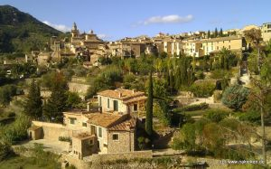 die Finca Son Escanelles in Valldemossa
