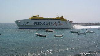 Inselexpress Schiff
