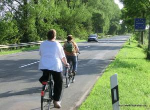 Mit dem Fahrrad über die Grenze zu den Niederlanden