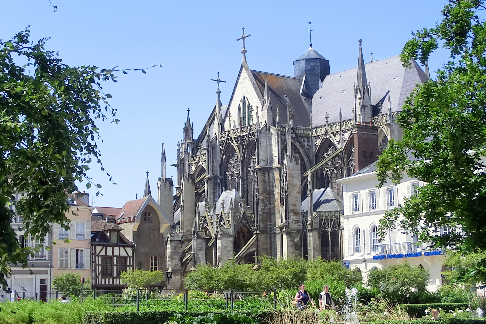 Kathedrale in Troyes, Frankreich