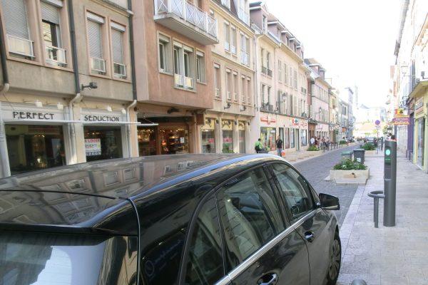 Kurzzeitparkplatz am Hotel