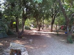 Zeltplatz in Nimes