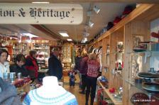 Geschäft in der Altstadt von Bergen
