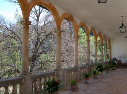 Außenrundgang auf La Granja