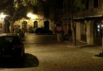 Am Abend leere Straßen