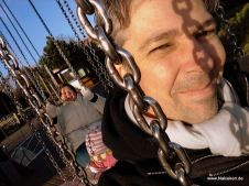 Selfie auf dem Carrousel