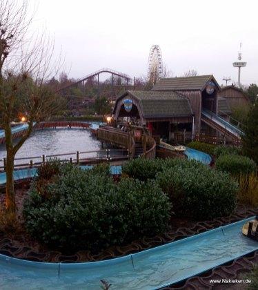 Wildwasserbahn in Slaghaaren