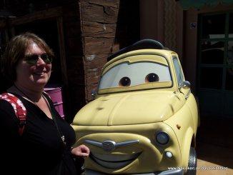 Luigi von Cars dem Film