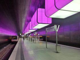 Licht und Klangspektakel Hochbahn