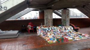 Obdachlosen Buchladen