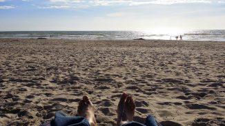 Füße im Sand