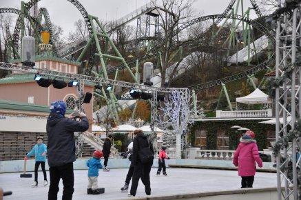 Eislaufen in Liseberg