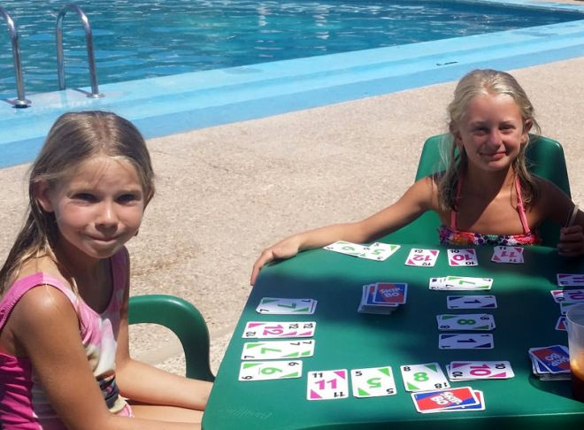 SkipBo am Pool