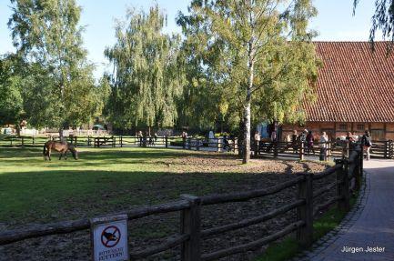Bauernhof im Zoo