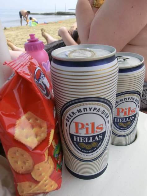 Bier und Kekse
