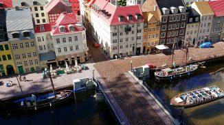 Amsterdam in Lego