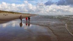 Mit Kindern am Strand