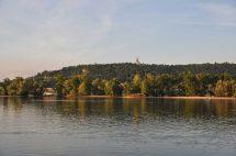 Blick auf den Rhein bei Rüdesheim