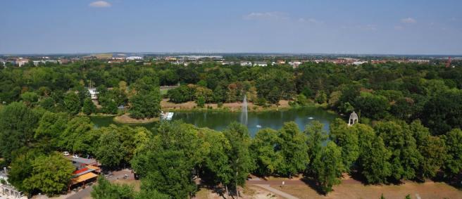 Blick auf den Rotehorn Park