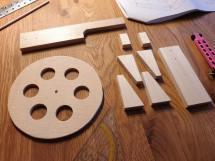 Fertige Holzteile