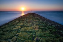 Sonnenaufgang auf der Insel Baltrum
