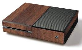 Die Xbox in Holz