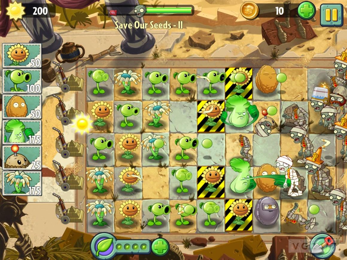 Растения против зомби-Android