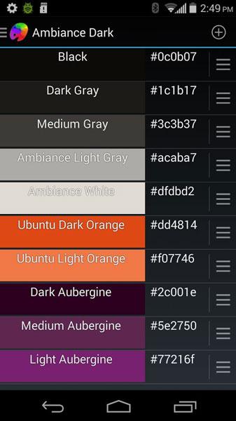 найти коды цветовых палитр сохранить