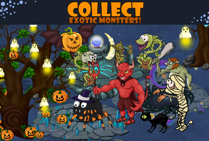 Хэллоуин город Хэллоуин приложение 2014