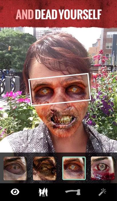 ходячие мертвецы хэллоуин приложение 2014