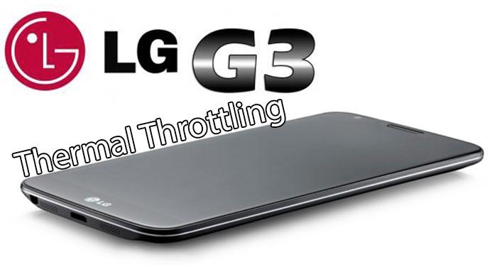 Устранить задержку теплового дросселирования LG G3