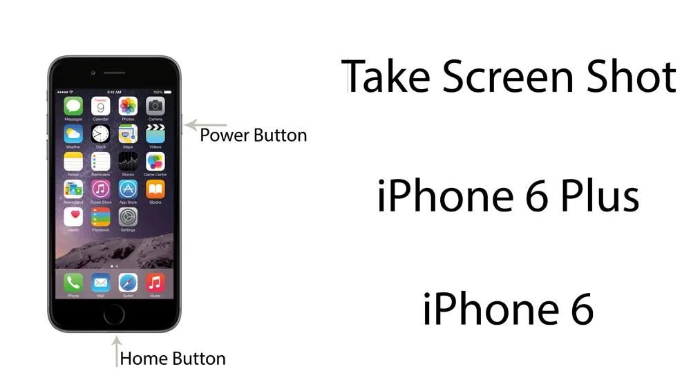скриншот iphone 6 plus снимок экрана