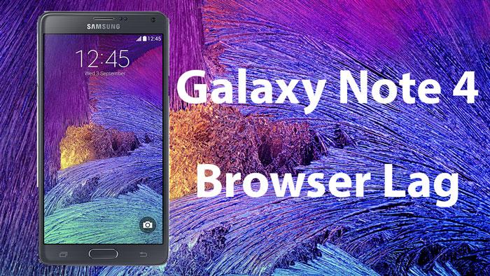 галактика примечание 4 исправление задержки браузера