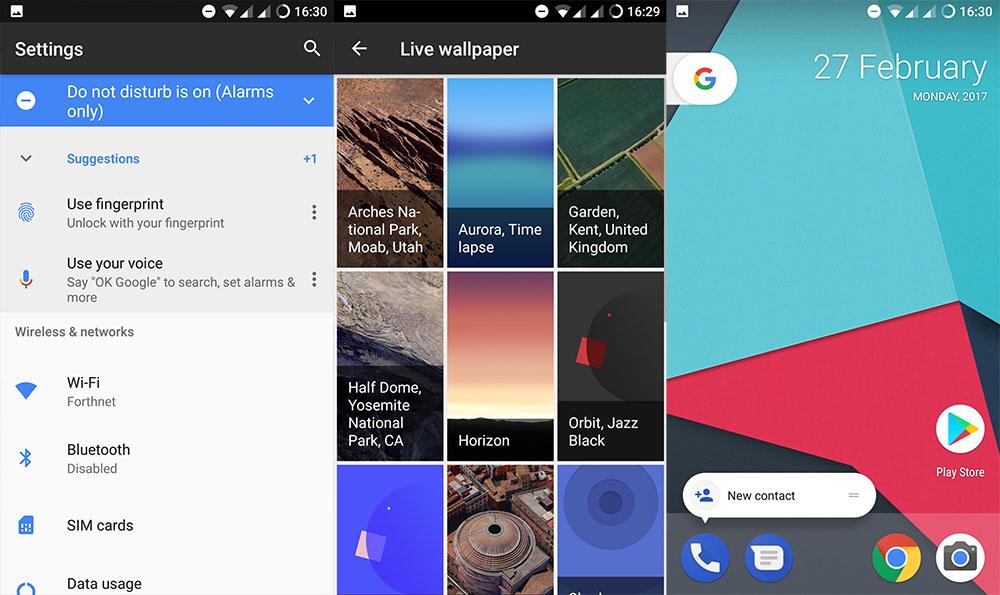 установить google pixel rom в приложения oneplus 3 3t
