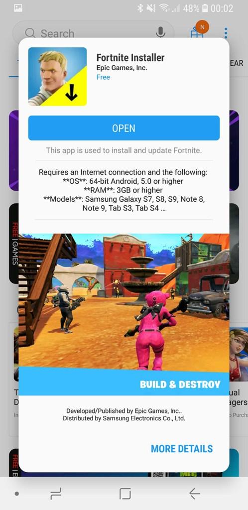 Fortnite apk android скачать