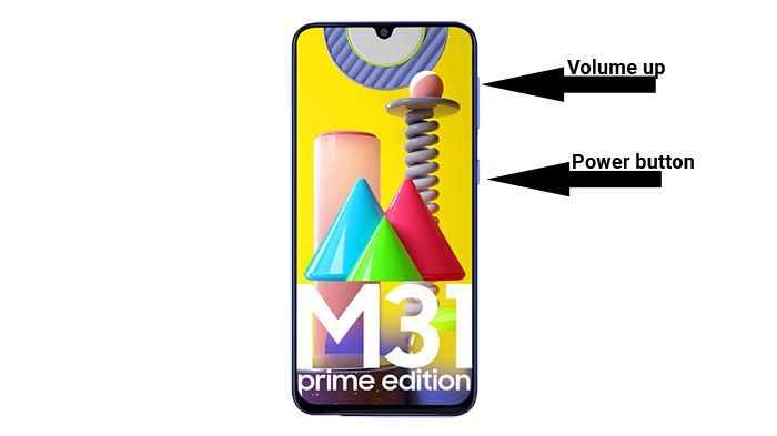 ключи восстановления galaxy m31 prime