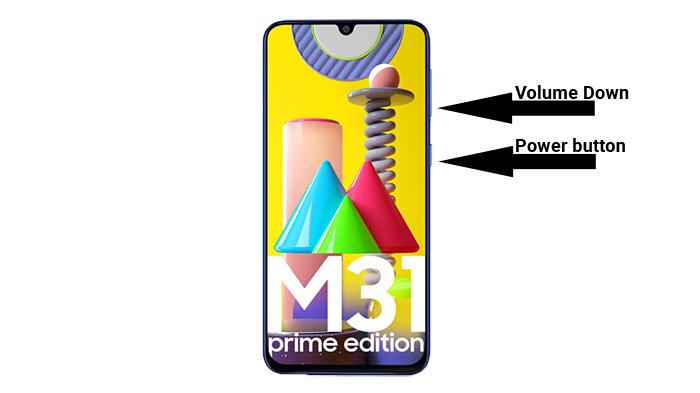 galaxy m31 prime скриншот