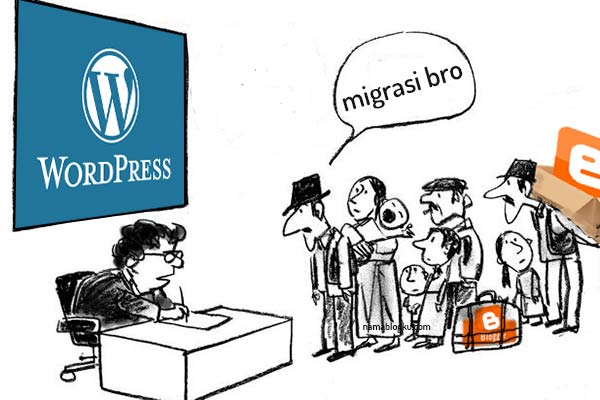 Alasan Migrasi Blog dari Blogspot Ke WordPress