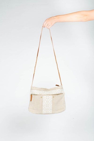 Mila Shoulder Bag White
