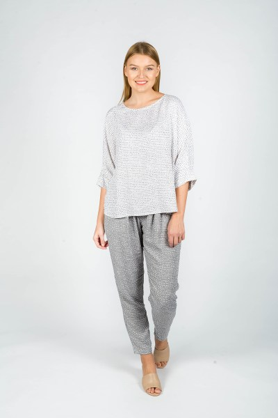 Evelyn Pants Paris Grey