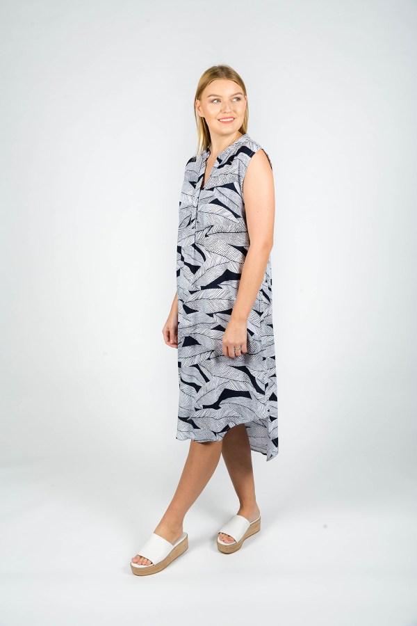Scarlett Dress Cannes Navy