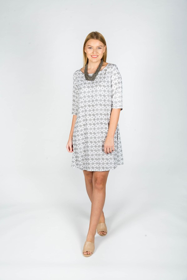 Chloe Dress Aix Grey