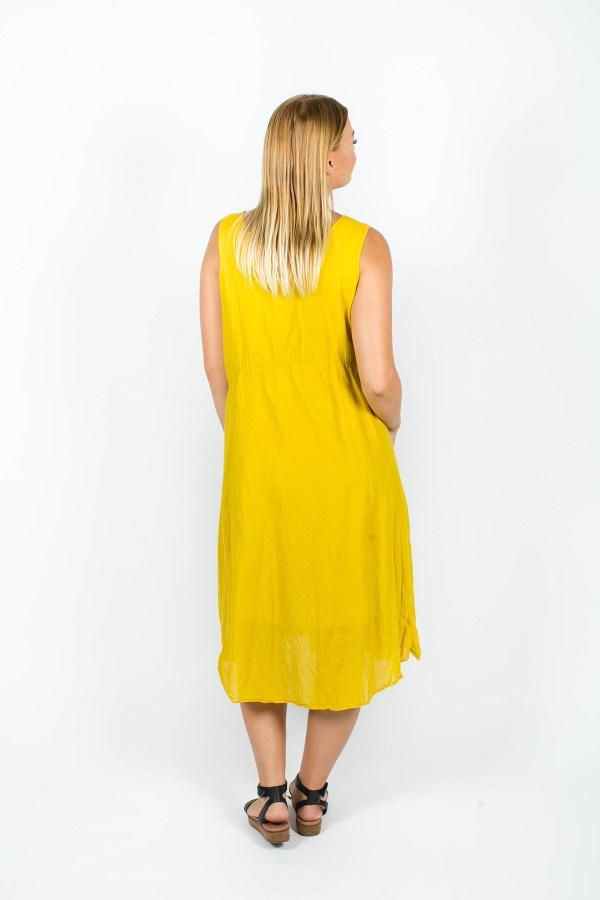 Emily Dress Mustard