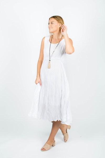 Emily Dress White