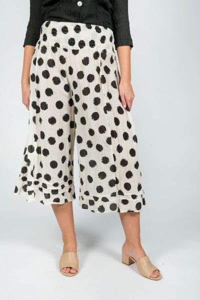 Lily Culottes Spot Steel