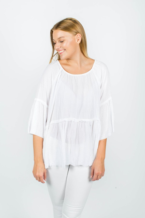 Grace Top White