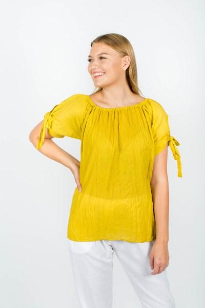 Alice Top Mustard