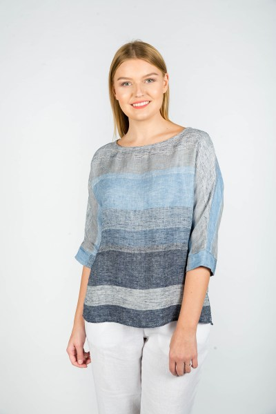 Erin Top Seattle Blue
